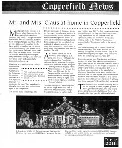copperfield news dec 2011 p 1